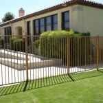 Elegant Home Iron Fence Design Idea