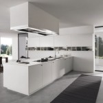 Elegant Home Kitchen Idea With White Color