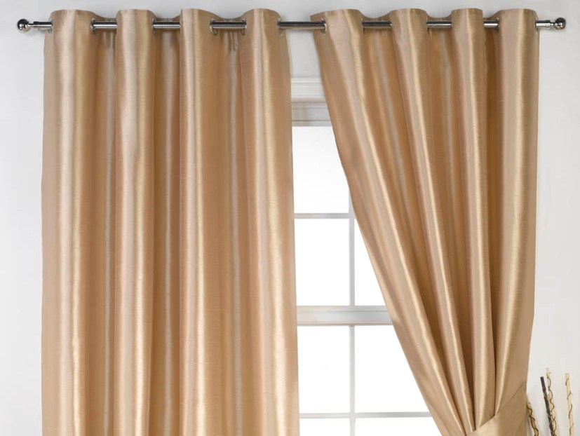 Elegant Home Windows Curtain Design Image