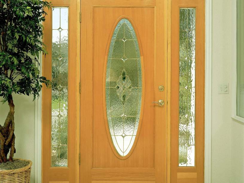 Elegant Home Wooden Door Design Image