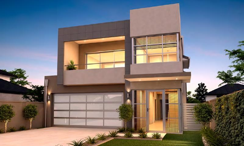 Minimalist 2 Storey Home Design Idea - 4 Home Ideas