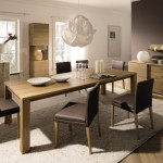 Elegant Wood Dining Room Table Design