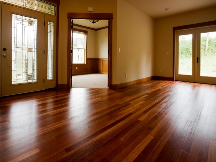 ... Elegant Wood Floor Design For Modern House ...