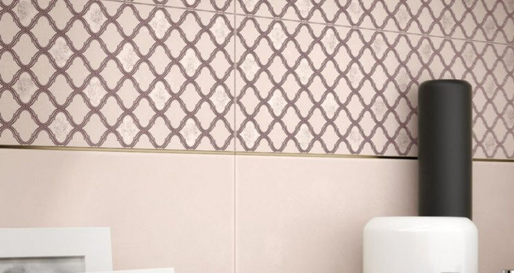 Fabric Pattern Idea For Bathroom Ceramic
