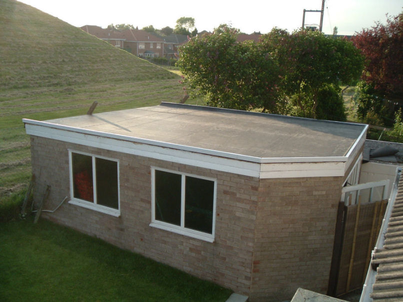 Flat Roof Model For Small Home - 4 Home Ideas