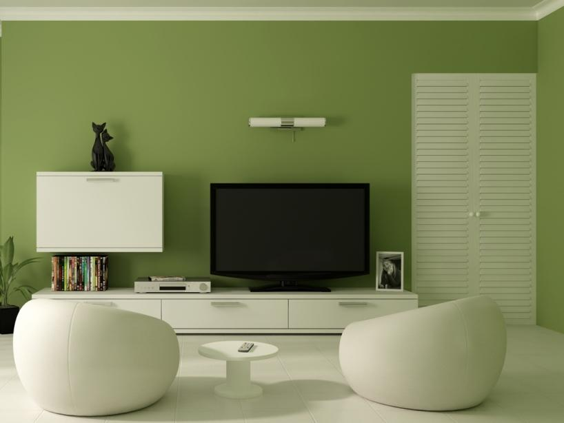 Fresh Green Paint Color For Home Wall