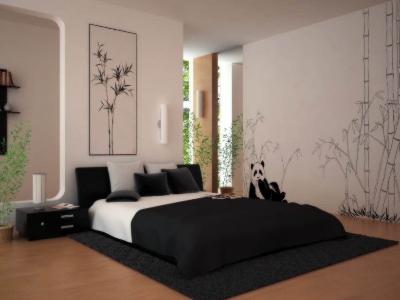 Funny Bedroom Wall Paint Design Picture