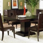 Glamor Square Dining Room Table Picture