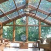 Glass Roof Design On Hot House