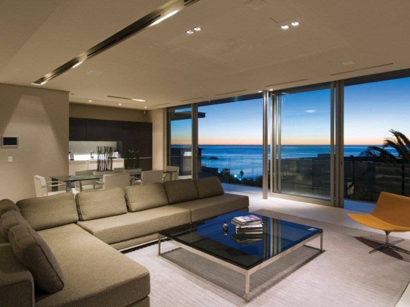 Good Living Room Design With Beautiful View