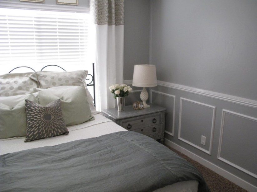 Gray Paint Color For Small Bedroom