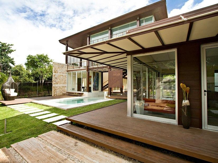 Great Front Canopy For Modern House & Great Front Canopy For Modern House - 4 Home Ideas