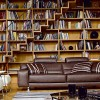 Home Library Design For Minimalist Home