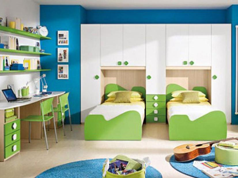 Interior Design Idea For Children Bedroom