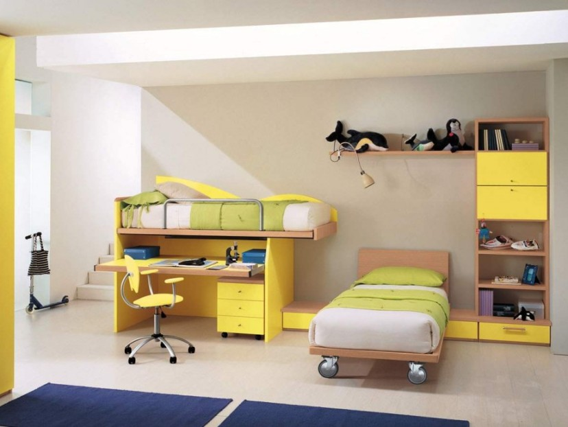 Kids Bedroom Furniture Design Idea Picture