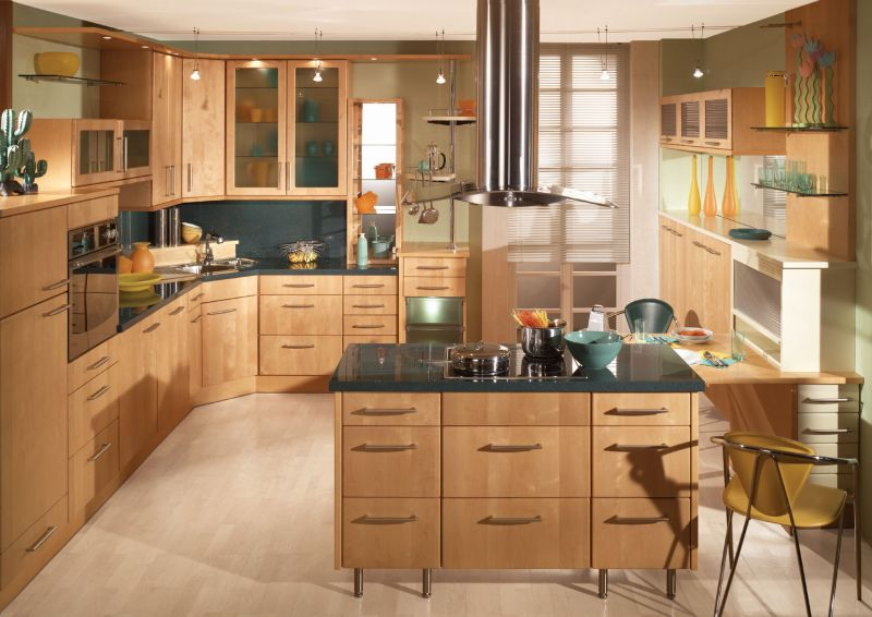 Kitchen Layout Idea For Modern Home