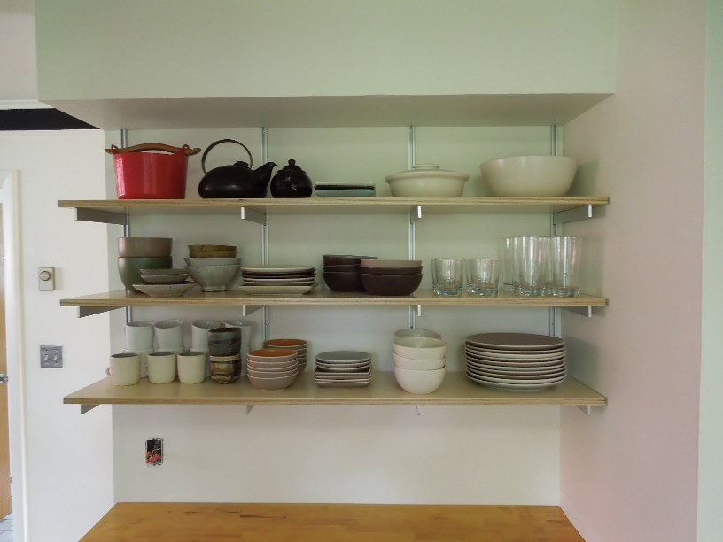 Kitchen Shelves Idea For Minimalist House