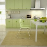 Light Green Color For Minimalist Kitchen