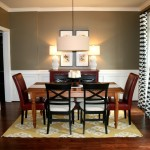 Luxury Home Dining Room Table Idea