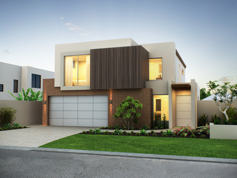 Luxury Home Facade With Good Color