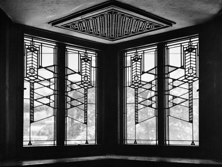 Luxury Home Window Design With Black Color
