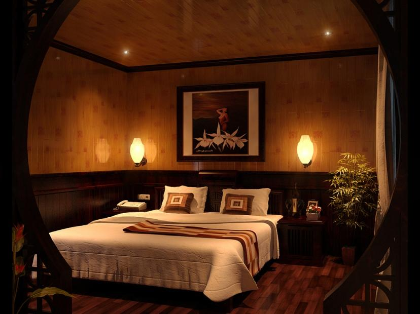 Luxury Romantic Main Bedroom Decoration Picture