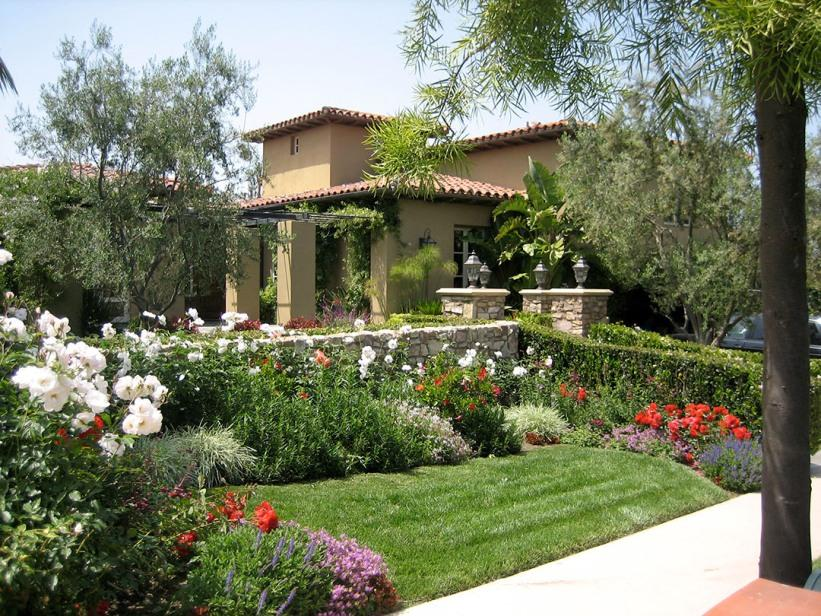Mediterranean Garden Design For Minimalist Home 4 Home Ideas