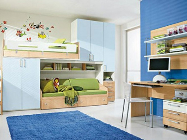 Minimalist Bedroom Design Idea For Children