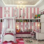 Minimalist Cute Girls Bedroom Design Image