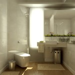 Minimalist Home Bathroom Design Idea Picture