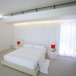 Minimalist Home Bedroom Idea With White Color