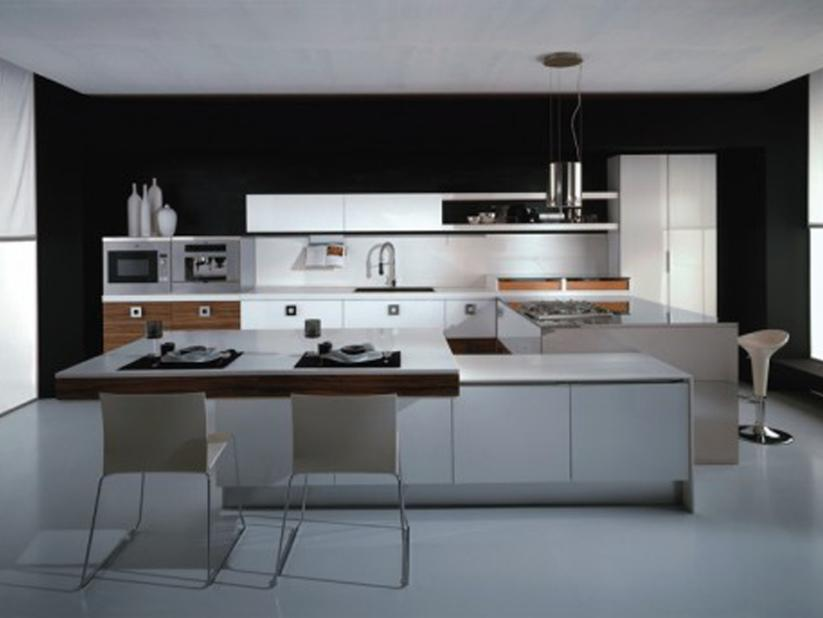 Minimalist Home Kitchen Furniture Set Idea