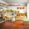 Minimalist Kids Bedroom Decoration Idea Image