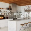 Minimalist Kitchen Shelves Decor Design Image