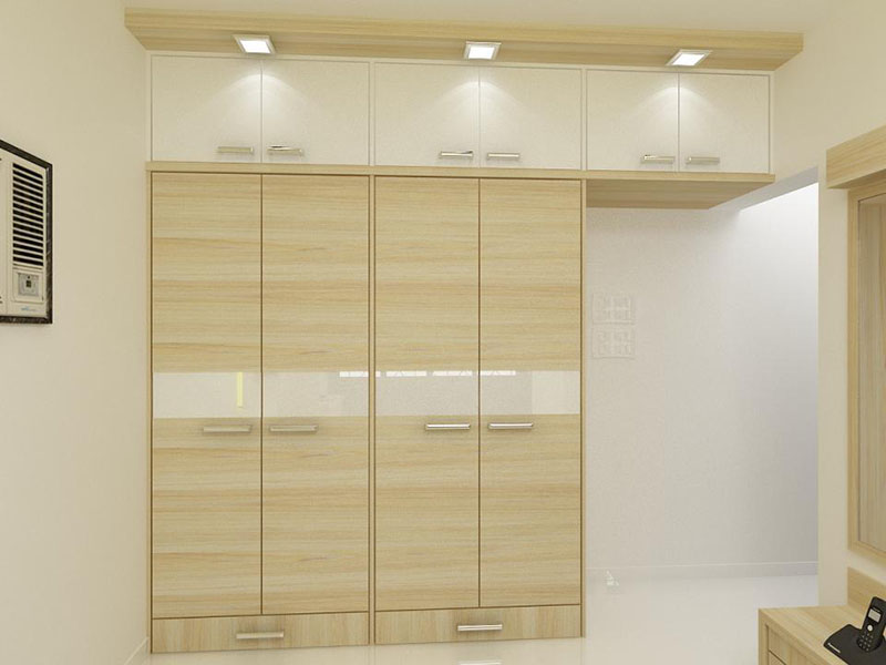 Simple wardrobe for your bedroom 4 home ideas for Interior design bedroom cabinets