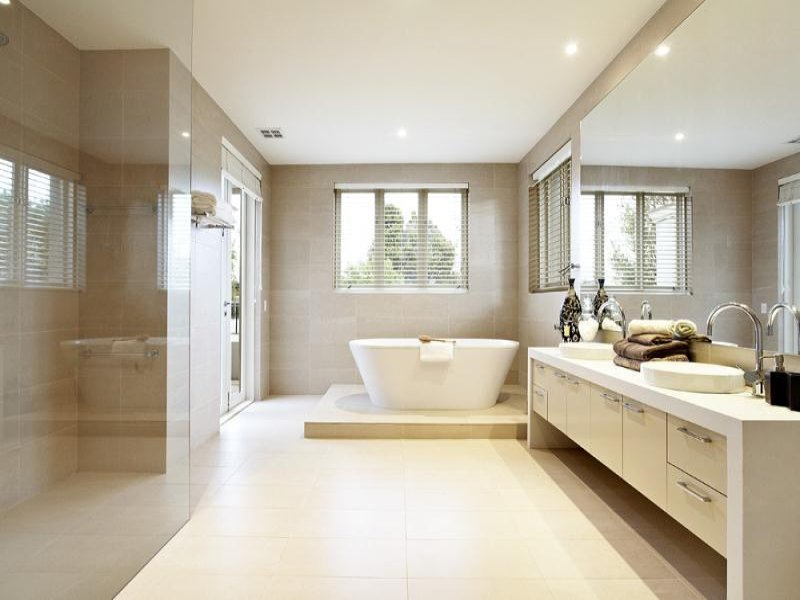 Modern Bathroom Idea For Minimalist House