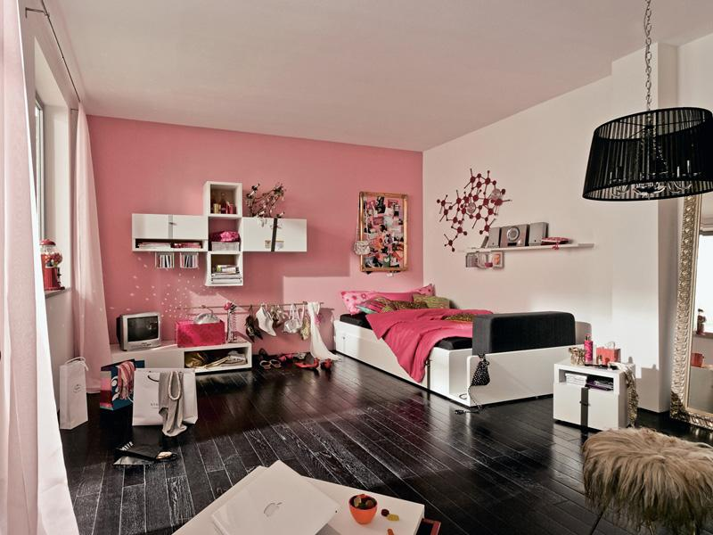 Modern Beautiful Girls Bedroom Design Idea