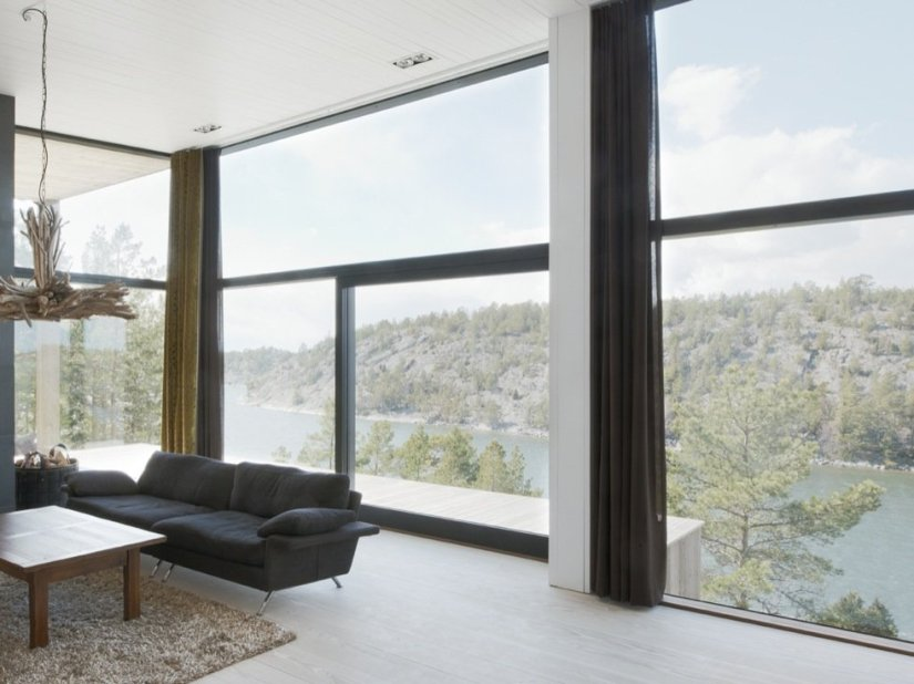 Modern Beautiful Home Windows View Image
