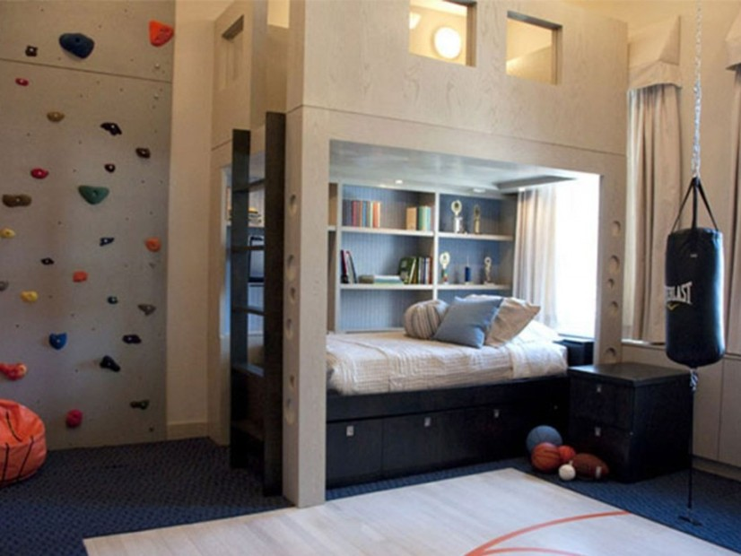 Modern Bedroom Decoration Idea For Kids