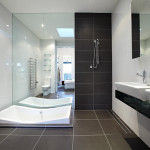 Modern Black And White Bathroom Color