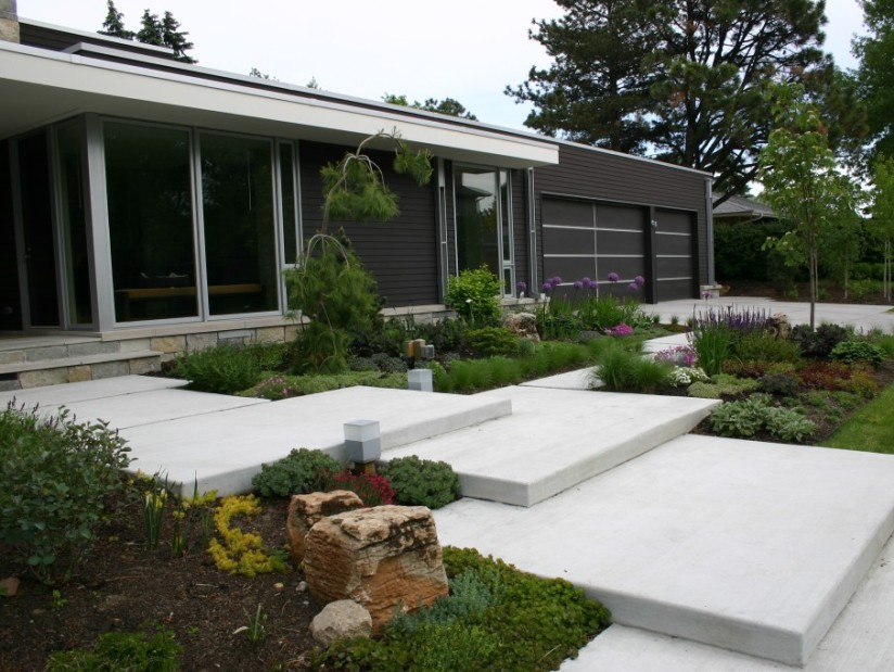Latest minimalist home garden design 2014 4 home ideas for Latest home garden design