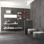 Modern Gray Bathroom Design Images Idea