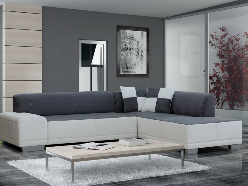 Modern Gray Color For Living Room