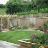 Modern Home Backyard Garden Design Photo