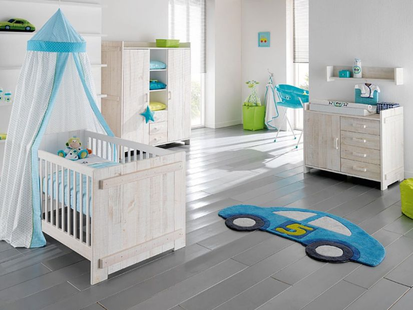 Modern Minimalist Baby's Bedroom Interior Design