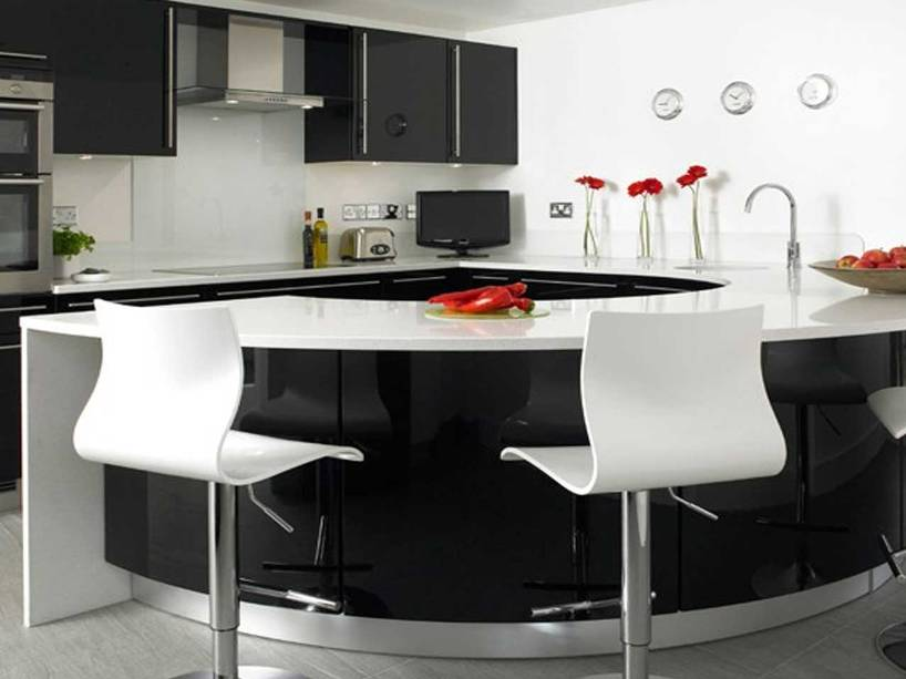 Modern Minimalist Home Kitchen Design Picture