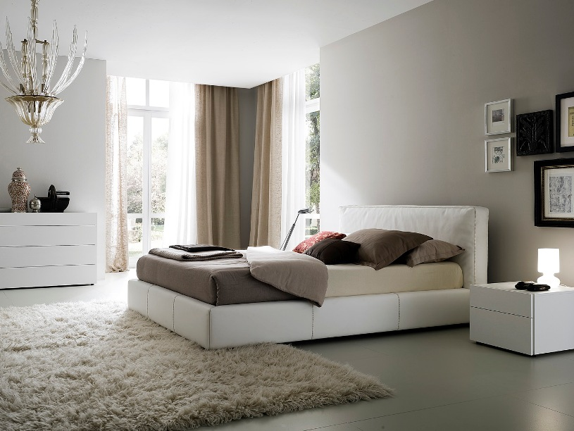 Modern Minimalist House Bedroom Decor Image