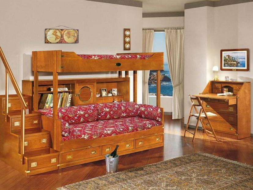 Modern Wooden Bed Design For Children