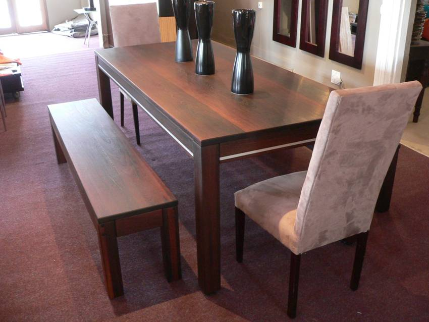 Modern Wooden Dining Table Set Idea Amazing Pictures