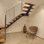 Modern Wooden Home Stairs Design Model